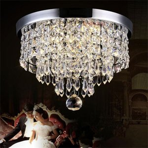 Chandelier Ceiling Light Crystal Ball Fixture Pendant Lamp Aisle Porch Bedroom Living Room Balcony Lights Modern
