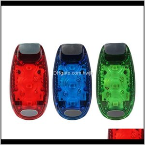Bike Lights Aessories Cycling Sports & Outdoorsmultifunctional Outdoor Mini Bicycle Tail Light Backpack Helmet Running Warning Drop Delivery