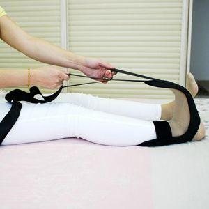 Knöchelgelenkdehnung Sehnen-Reparatur-Band-Fuß-Dehnungs-Training Yoga-Seil Fitness Rehabilitationsausrüstung EDF88-Streifen