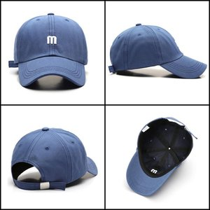 2020 Best Spring Cotton Embroidery Letter M Baseball Cap for Men Women Snapback Bone Sun Casquette Female Hip Hop Dad Hat Winter Xmas Gift