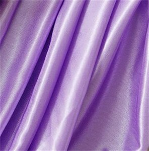 1.5M Wedding background wall stage decoration silk Width Satin Fabric Solid Color Cloth Performance Clothing 217 V2 9PK6 28EL