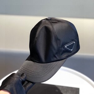 Side Triangle Luxurys Baseball Cap For Men Fashion Designers Caps Hats Mens Middle Triangle Women Casual Fitted Hat Nylon Casquette Beanie