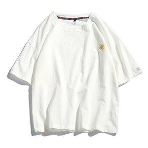 New Clothing Fashion T Shirt Men Cotton Mens Summer Tshirts Male Oversized Tee Shirts 5XL Casual T Shirt Tee for Man Streetwear C0317