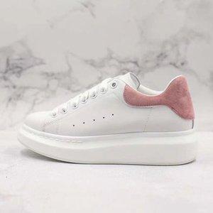 منصة عارضة الأحذية فيلم ذيل أزياء النساء أحذية رجالية الجلود الدانتيل يصل chaussures المتضخم أحذية رياضية أبيض أسود M1