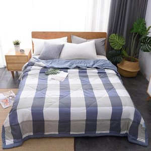 Comforters & Sets Special Offer Summer Cool Air Conditioning Quilt Home Bedding Blanket Born Kids Sleeper Queen King Comforter Size