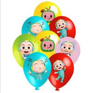 18inch Cocomelon Foil Balloon Party Supplies Decoration Latex Balloon Birthday Party Decorations Kids Toy Balloon Baby Shower 1197 Y2