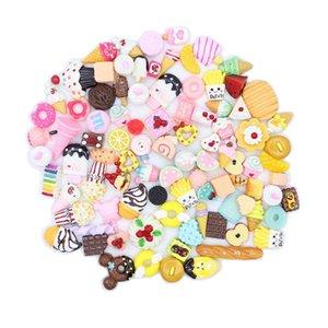 10шт милый мини конфеты пончик хлеб кукол пищевой масштаб кукольный домик миниатюрный торт аксессуары для дома ремесло декор торт детские кухонные игрушки 915 y2