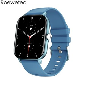 2021 Smart Watch KT48 Big 1.7 inch screen display IP68 Waterproof Heart Rate Blood Pressure Oxygen Sports Smartwatch Fitness Tracker Push Message silico strap