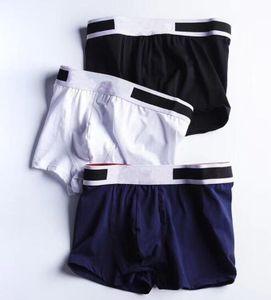 Mens Designers Boxers Brands Underpants Classic Men Boxer Casual Shorts Underwear Breathable Cotton Underwears 3pcs With Box