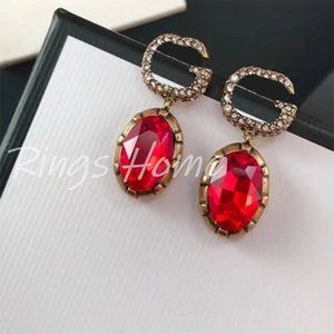 Women Brand Designer Luxury Earings Wedding Earing Charms Fashion Jewelry Gifts for Lady & Girls D32201