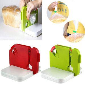Creative Mini Selante Máquina doméstica Heat Capper Saver para sacos de plástico Gadgets de pacote com clipes de saco de cozinha de fita