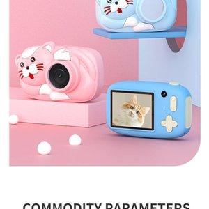 Children Camera For Kids Digital Mini 1080P HD Video Toys Birthday Gift Girl Boy Cameras