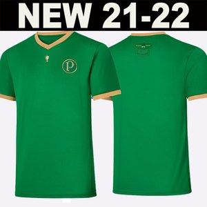 Palmeiras 축구 유니폼 2021 2022 홈 멀리 70 주년 기념 Breno Lopes Felipe Melo L.Adriano 70 년 축구 셔츠 Rony Ramires G.veron G.Gomez Special-Edition