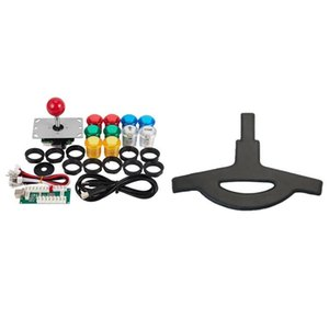 Pcs Cushion Replacement Washable Flexible With Easy Installation & 1 Set DIY Arcade Joystick Kit USB Computer Camcorders