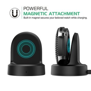 Top Quality Wireless Charging Dock Cradle Charger For Samsung Gear S3 Classic S2 Watch With 1m USB Cable Retail Package
