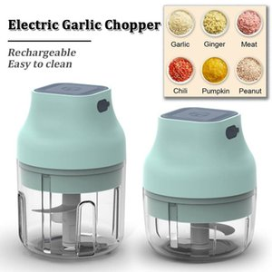 Mini Electric Food Blender Chopper Processor Mixer Pepper Carlic Приправа Кофемашина Экстремальная скорость Шлифовальные кухонные инструменты