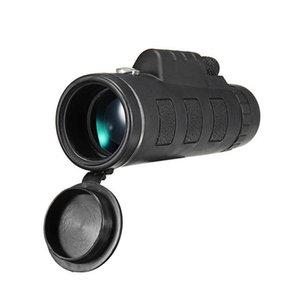 التلسكوب المهنية 40x60 hd للرؤية الليلية أحادي التكبير البصرية spyglass monocle ل قناص الصيد بندقية اكتشاف نطاق