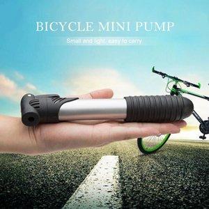 Bike Pumps Black Mini Portable High-strength Plastic Bicycle Pump Tire Inflator Ultra-light Gadgets Self-inflator