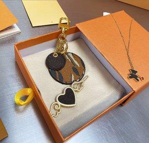 Borse di modo Pendente Designer Style Letter Pattern Pattern Catena chiave Trend Bag Accessori Gancio Tre pezzi Set WF2103241