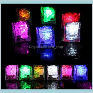 Halloween Led Light Ice Cube Artifical Liquid Sensor Lighting Crystal Cubes Flash For Christmas Wedding Ktv Bar Party Decoration 7 Gynxt