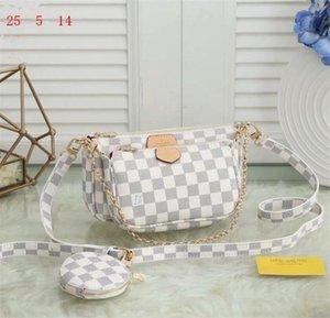 Best selling handbag shoulder bags designer handbag fashion bag handbag wallet phone bags Three-piece combination Cheap