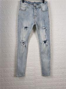 Arrivals Mens Jeans Designer Jeans Slim-leg Jeans Hole Casual Men Pants High Quality High Street Biker Luxyrys Denim Pants Size W29-W40