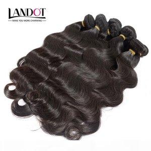 Wholesale Best 10A Brazilian Virgin Hair Body Wave 1KG Lot Unprocessed Peruvian Indian Malaysian Human Hair Weaves Can Bleach UP 2 Year Life