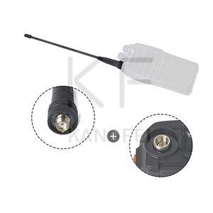 UAYESOK dual-band SMA male Ham radio telescopic antenna VHF UHF 2M 70CM extendable antenna for Yaesu Vertex TYT WouXun handheld walkie-talkie