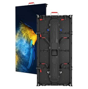 Display Good Price Full Color RGB P4.81 500*1000mm Panel Diecast Cabinets Video Advertising Billboard Outdoor Led Screen