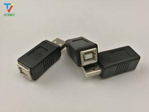 wholesales 100pcs lot portable USB 2.0 Type A Male to USB Type B female Plug Extend Printer Adapter Converter