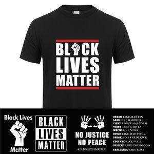 2020 Black Lives Matter T Shirt Short Sleeve Cotton BLM T-shirt Black Life Matter Tshirt Men Unisex 14 STYLES Clothing XS-5XL