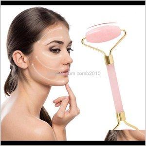 Rose Jade Roller Face Mas Crystal Stone Jade Masr Roller Skin Care Face Roller Beauty Tool Kph5B Ax7Ff