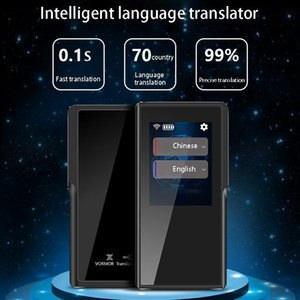 Smart Voice Translator 70 lingue Istantance Two Way Traduzione portatile per il riunione d'affari di apprendimento in viaggio