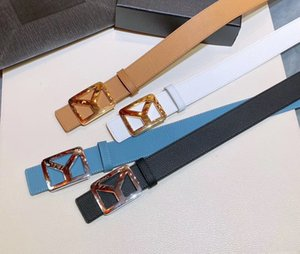 2021 Fashion Y Women luxurys men S designers belts Classic Belt L with Box,real leather production ,the factory source 55