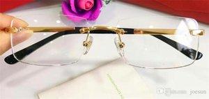 Best -Selling Glasses Frame 18K Рамка Золото-Ультра-Оптические Отечки Ноги Для Мужчины Деловые Очки Высокое качество С Кородом 820