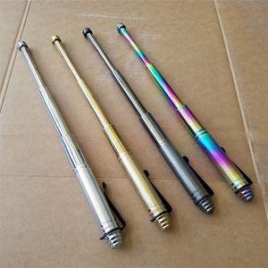 32см многофункциональный телескопический тактический выживающий ручка наружная защита от самообороны стеклорезатор инструмент для кемпинга 478 x2
