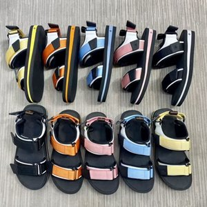 Luxury Designer Beach Men and Women arcade Flat Platform Sandals Genuine Leather Casual Slides Shoes Flats Classic Walking Size 35-45