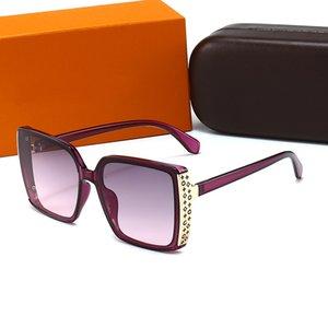 Mujeres Gafas de sol Moda Diseñador polarizado Marco completo Vintage Retro UV400 Gafas Lentes