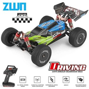 WLtoys 144001 A959 959B 2.4G Racing RC Car 70KM H 4WD Electric High Speed Car Off-Road Drift Remote Control Toys for Children 210729