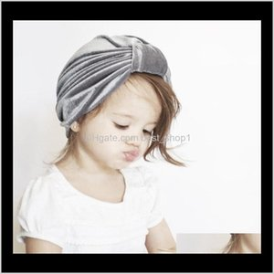 Ins Baby Hat Infants Pleuche Bunny Bow Knot Beret Hats Indian Turban Caps Maternity Fall Winter 9 Colors Price Wholesale E5Kad Hair Ac 1Gocf