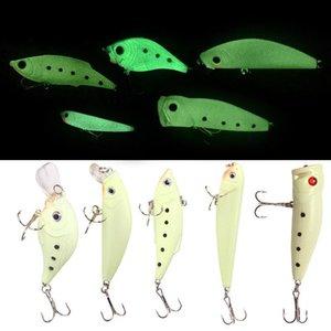 Cuerpo completo Luminoso Road Sub-Bait Rock / Lápiz / VIB / Mino / Onda Parrilla Pesca Pesca Pesca Simulación Decoraciones de pescado