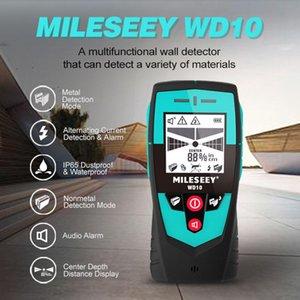 Metal Detectors Mileseey Multifunction Wall Detector With Large Area Sensor Handheld Stud Finder Scanner Wire