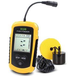 FFC1108-1 Alarm 100M Portable Sonar Fish Finders Depth Ocean River Wireless Finder