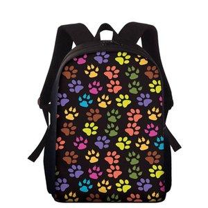 School Bags Cute Dog Pattern Backpack For Teenager Boys Girls Children Student Bookbag Kid Book Bag Back To Backpacks