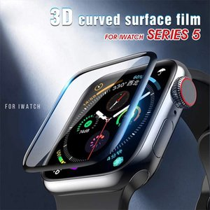 For Apple Watch 6 SE 5 40mm 44mm Screen Films 3D Curved Ceramic soft Protector Full Coverage iWatch Series 2 3 38mm 42mm Not tempered glass