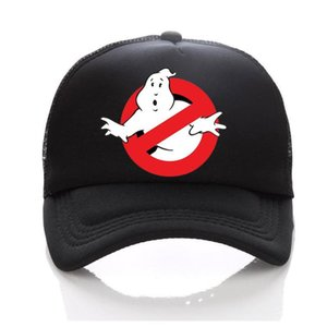 Ghostbusters Movie Adult Kids Trucker Cap Summer Mesh Sun Hats Ghost Busters Baseball Hat Family Children baby ghostbusters Cap