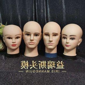 peruk peruk kel iğneli olabilir. Düz Asyalı erkek ve dişi kukla kafalar model kafa sahne gösterisi