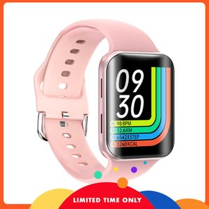 Бесплатный новый T68 Температура тела Часы Bluetooth Play Музыка Умный Изогнутый Экран Сердечника Сообщение Сообщение