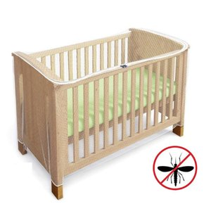 Crib Netting Travel Portable Elastic Band Foldable Summer Mesh Cover Home Flies Bedding Baby Cot Accessories Mosquito Net Insect