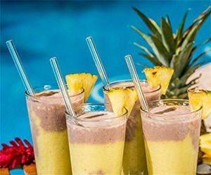 20 cm Reusable Wedding Birthday Party Straight Clear Glass Drinking Straws Thick Straws Barware HHA7481